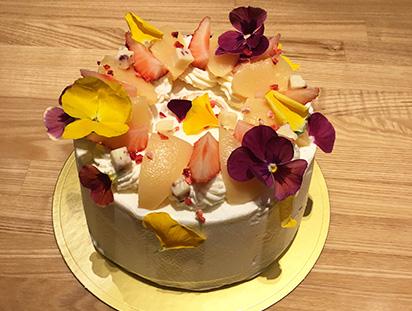 カラフルシフォンケーキ
